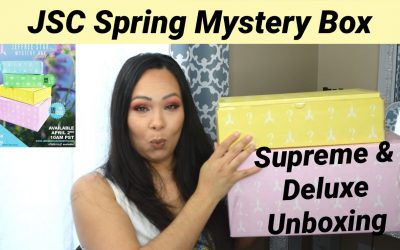 Jeffree Star Spring Mystery Box 2021 – Deluxe and Supreme Unboxing (video included)