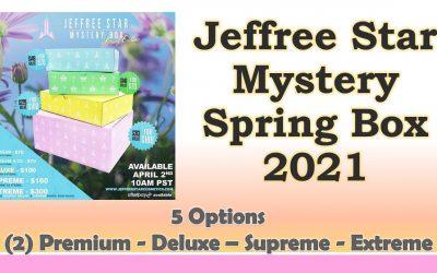 Jeffree Star Spring Mystery Box 2021 – 3 Spoilers (Premium Box)