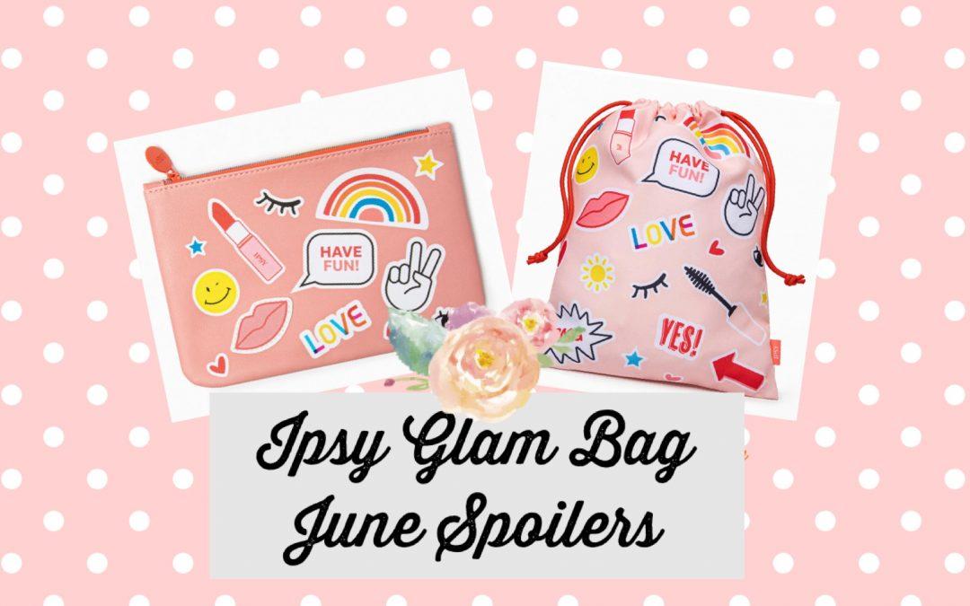 Ipsy Glam Bag Plus June 2021 Spoilers (Murad, Viseart, Ciate London )