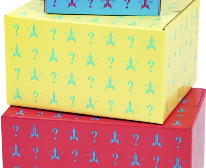 Jeffree Star Summer Mystery Box 2021 – 4 Options prices and date
