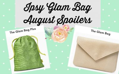 Ipsy Glam Bag August 2021 Spoilers ( Glow Recipe, Pixie Beauty and more)