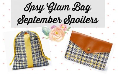 Ipsy Glam Bag September 2021 Spoilers ( Bareminerals, Tatcha and more)