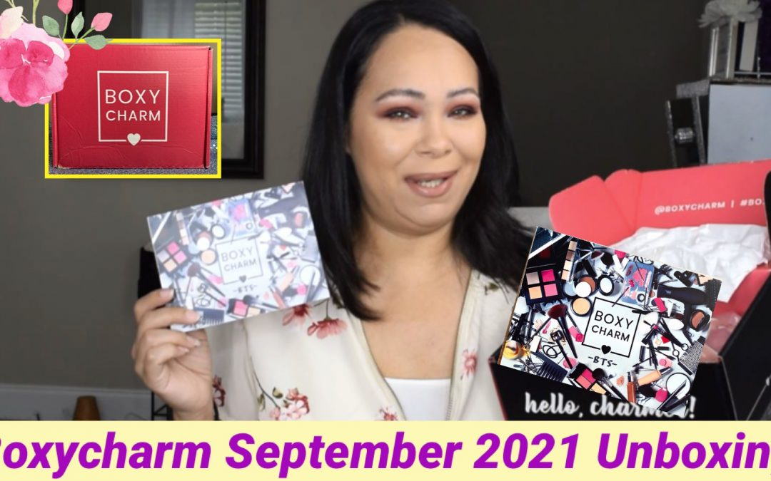 Boxycharm Base Box September 2021 Unboxing (video included)