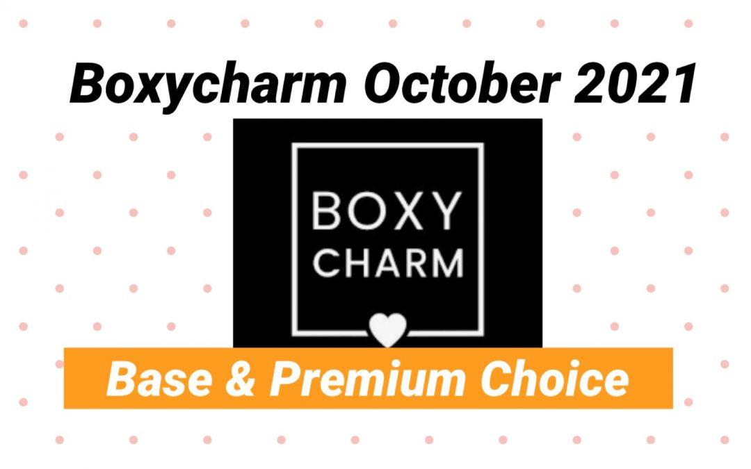 Boxycharm Base Box October 2021 Choice